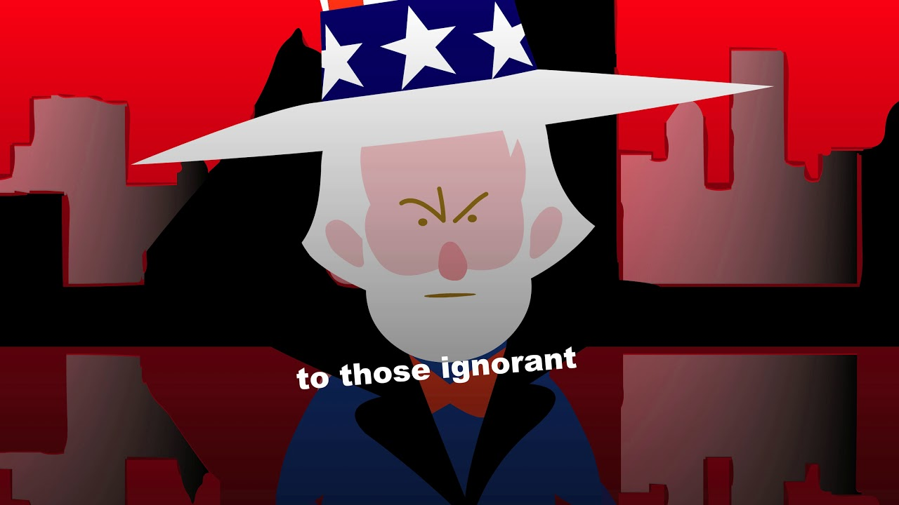 Uncle Sam can be the white dwarf