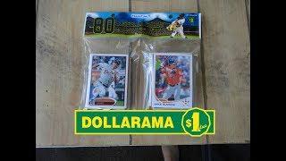 Pack Opening #71 - Dollarama 80-Pack of Baseball Cards