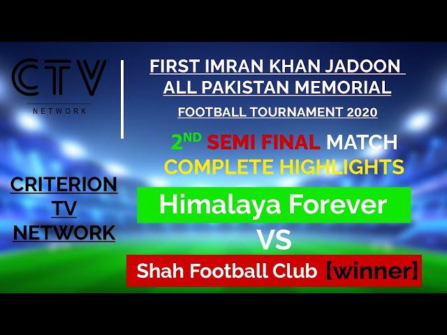 FIRST IMRAN KHAN JADOON MEMORIAL FOOTBALL TOURNAMENT NAWANSHER ABBOTTABAD 2nd SEMIFINAL HIGHLIGHTS