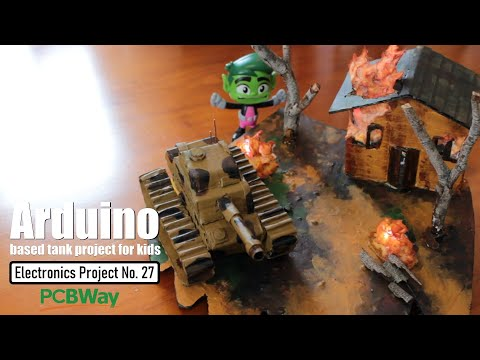 Arduino based tank project for kids