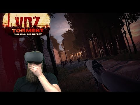 OPEN WORLD ZOMBIES VR | VRZ: Torment Gameplay and Review - Oculus Rift S