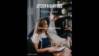 Lyodra Ginting - Sabda Rindu ( official lyrics video)
