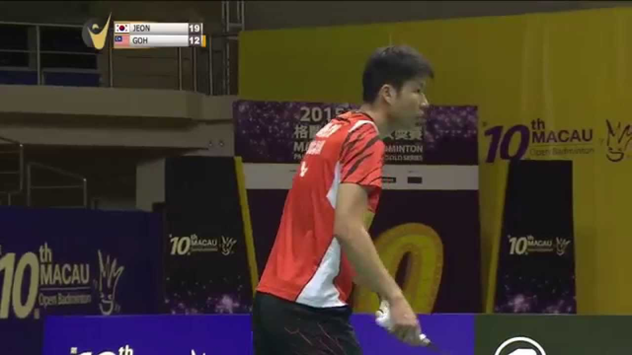 2015 Macau Open Badminton SF M3 MS