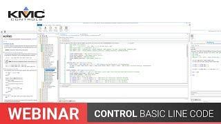 Webinar: ControlBasic Line Code | 07.19.19