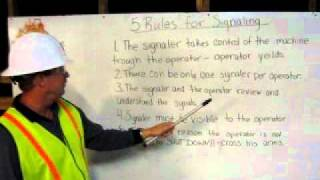 5 Rules for Hand Signals by HEO Greg Kealey