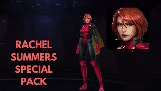 Rachel Summers Special Pack -  Pack Review - Marvel Future Fight 2019