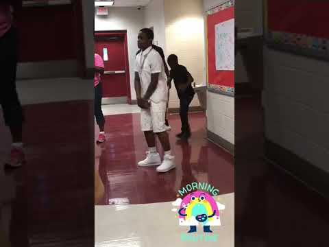 Lil Flavor-Performing live at price middle school