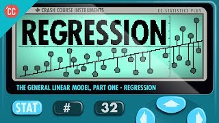 Crash Course: Statistics: Linear Regression and Outliers thumbnail