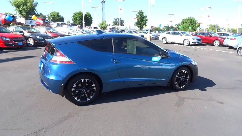 Lithia Chevrolet Redding >> 2015 HONDA CR-Z Redding, Eureka, Red Bluff, Chico, Sacramento, CA FS001775 - YouTube