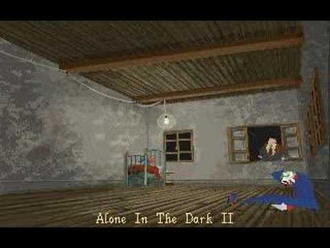 Classic Horror Gaming Alone In The Dark 1 3 Pc Emotional