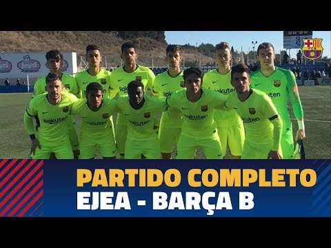 [PARTIDO COMPLETO] SD Ejea - Barça B (1-0) | 2ª División B