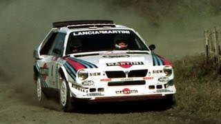 Lancia Delta S4 - Rally New Zealand 1986 - with pure engine sounds