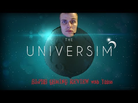 RARE!!! THE UNIVERSIM (NEW GAME) LIVE STREAM Review