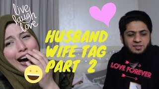 Husband/Wife Tag Part 2 | Queenie Padilla and Usama Mir