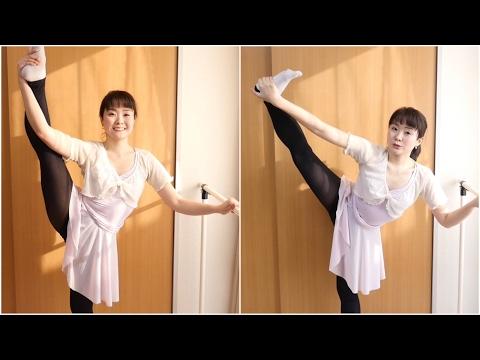 【Y字バランスがキープできないときは】バレリーナが安定して立てる姿勢のコツ Standing side splits
