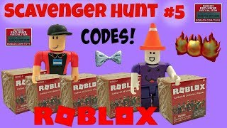 Roblox Scavenger Hunt #5 (closed) / Codes / Roblox Toys Series 2 Blind Boxes
