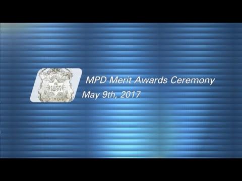 Milwaukee Police Merit Awards Ceremony 05-09-2017