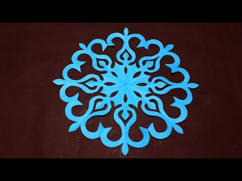 DIY-paper Cutting-How To Make Easy Paper Cutting Design Step By Step-paper Craft