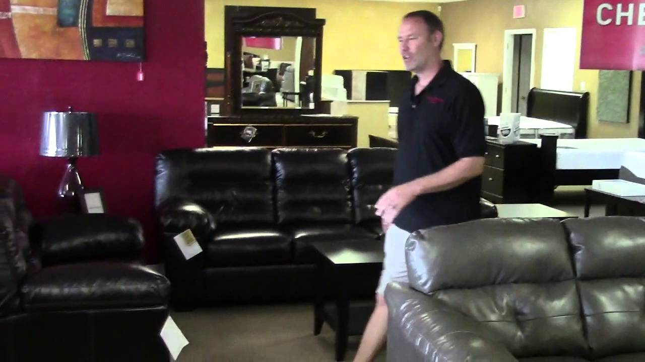 We Sell Ashley Furniture Tampa, Leather Sofa, Leather Love Seat ...