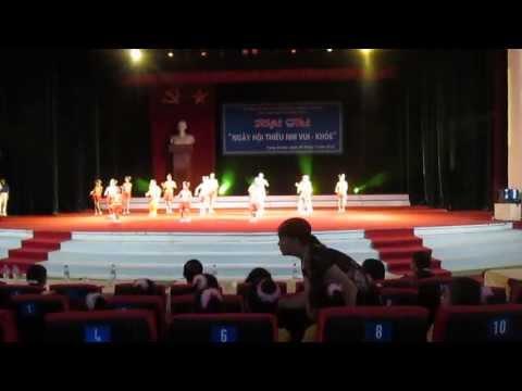 Dân vũ Trống cơm - tổ 21 phường Trưng Vương Thái Nguyên