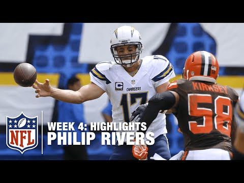 Philip Rivers Highlights (Week 4) | Browns vs. Chargers | NFL