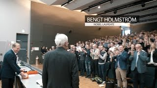 AVP Thought Leaders' Talk - Nobel Laureate for Economics, Bengt Holmström
