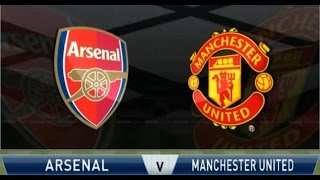 ARSENAL 1 - 2 MANCHESTER UNITED / BARCLAY PREMIER LEAGUE / PES 2015