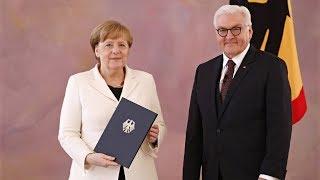 На четыре года в четвёртый раз: Ангелу Меркель снова избрали канцлером