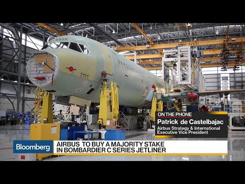 Airbus Executive VP on Bombardier C Series Deal