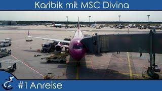 Kreuzfahrt-Vlog Karibik mit MSC Divina 2017 - #1 Mit WOW Air nach Miami