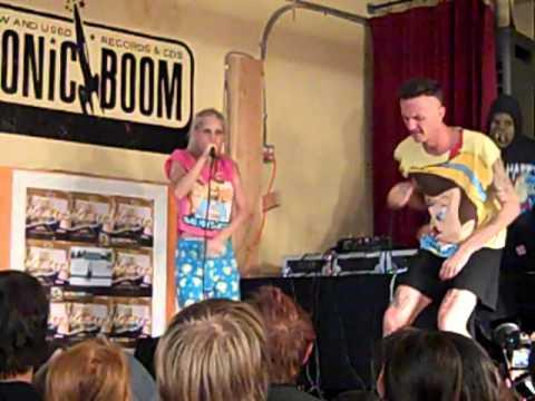 Die Antwoord - Scopie (Live In-Store)
