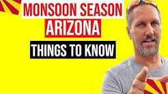 Arizona Monsoon Season | Arizona Haboob & Rain | Moving to Arizona (Living in Phoenix Arizona)