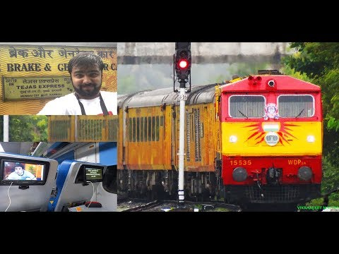 TEJAS EXPRESS : TRAVEL REPORT IN FIRST CLASS (EC),LED SCREENS,AUTOMATED DOORS & MANY MORE