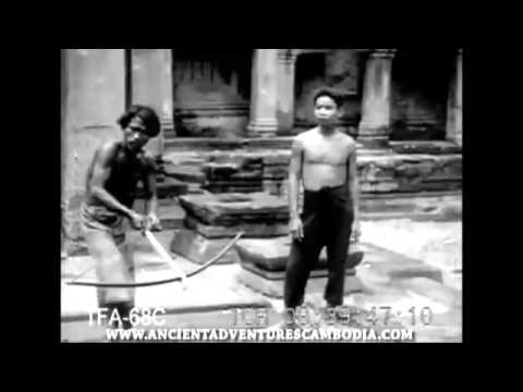 Old Footage of Cambodia's Angkor from the 1930's