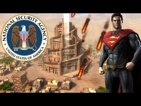All Seeing Government: NSA, Nimrod, Man Of Steel, Transhumanism & Their Upcoming Defeat!