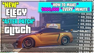 Zapętlaj NEW Elegy MONEY GLITCH *AFTER PATCH* $900,000 Every 60 Seconds In (GTA 5) | MiquelEddie