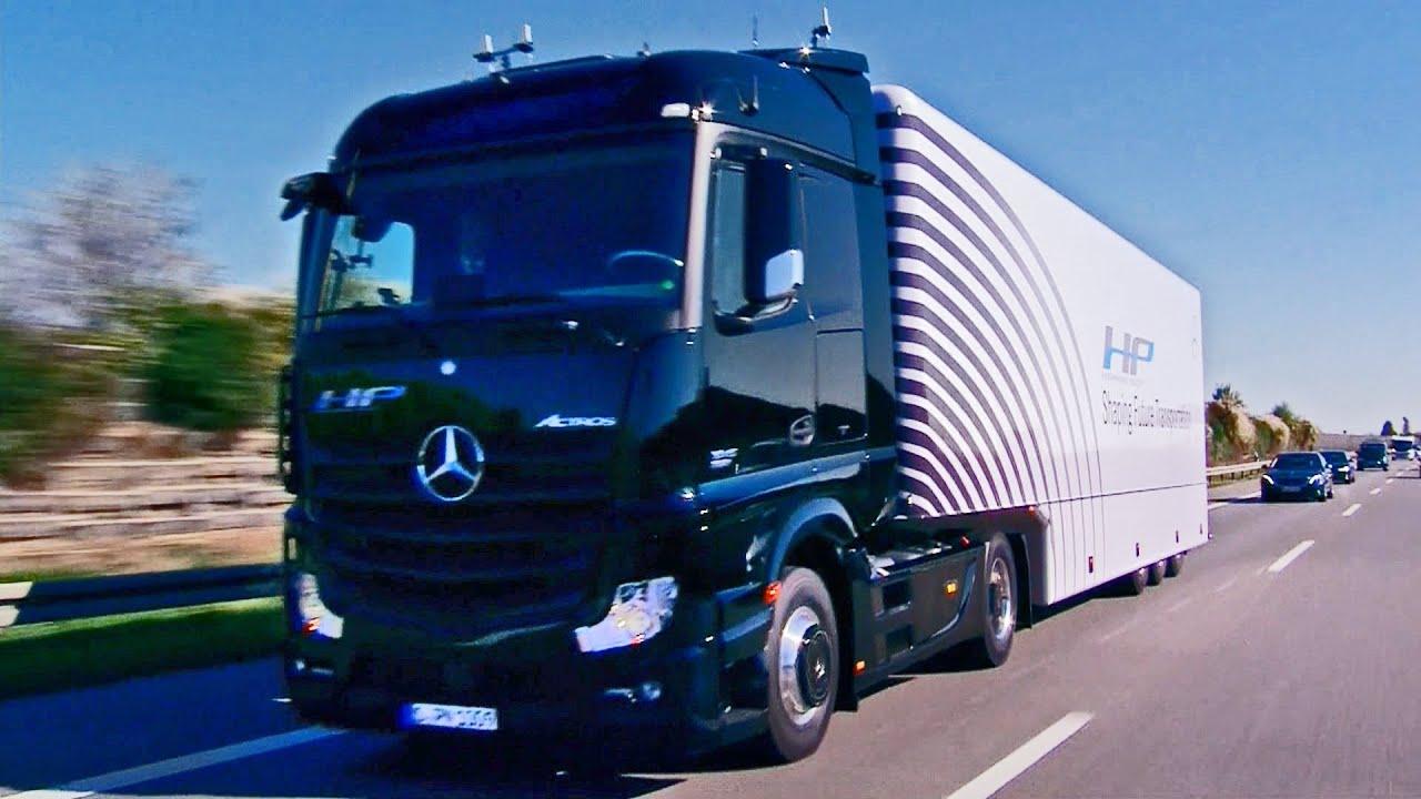 First Autonomous Series-Production Truck on Public Roads ...