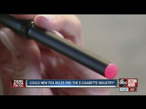 Could new FDA rules end the E-Cigarette industry?
