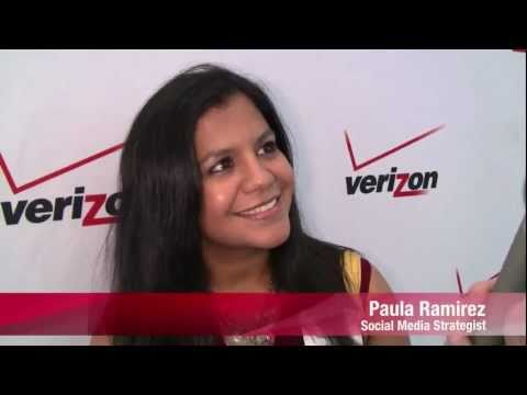 Verizon Speed Chat With Paula Ramirez