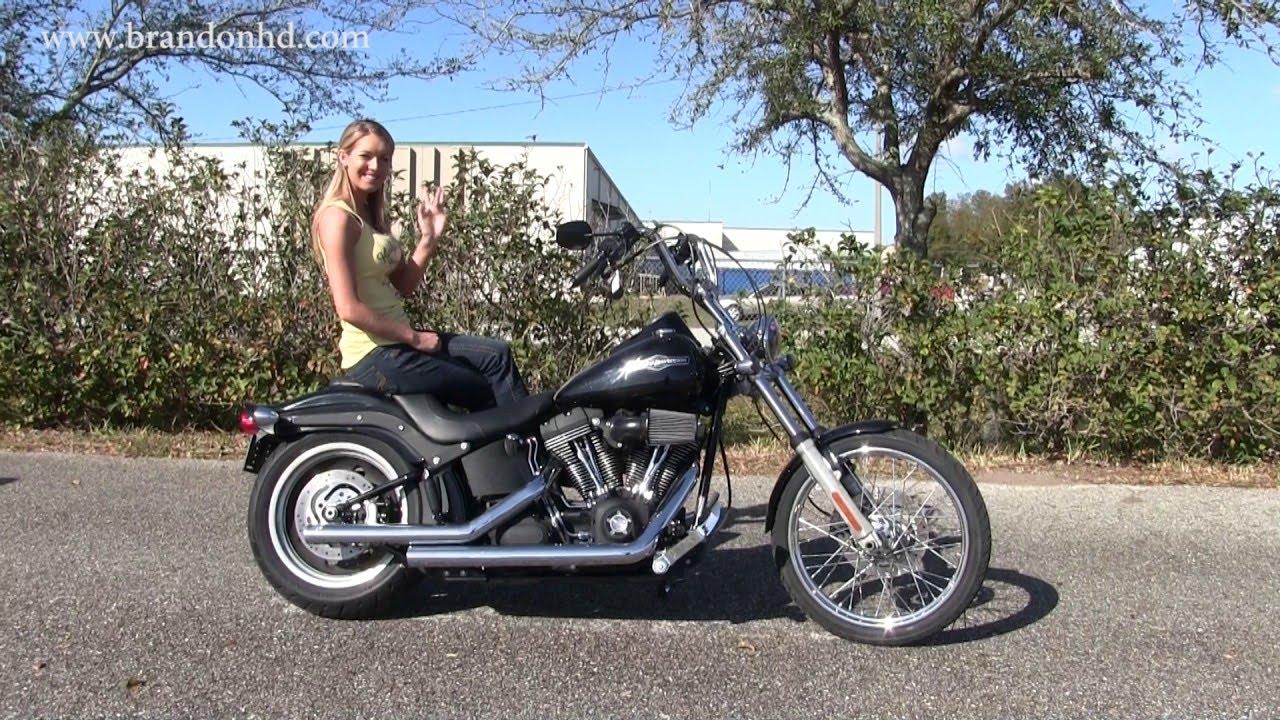 2009 Harley Davidson Softail Night Train for sale - YouTube