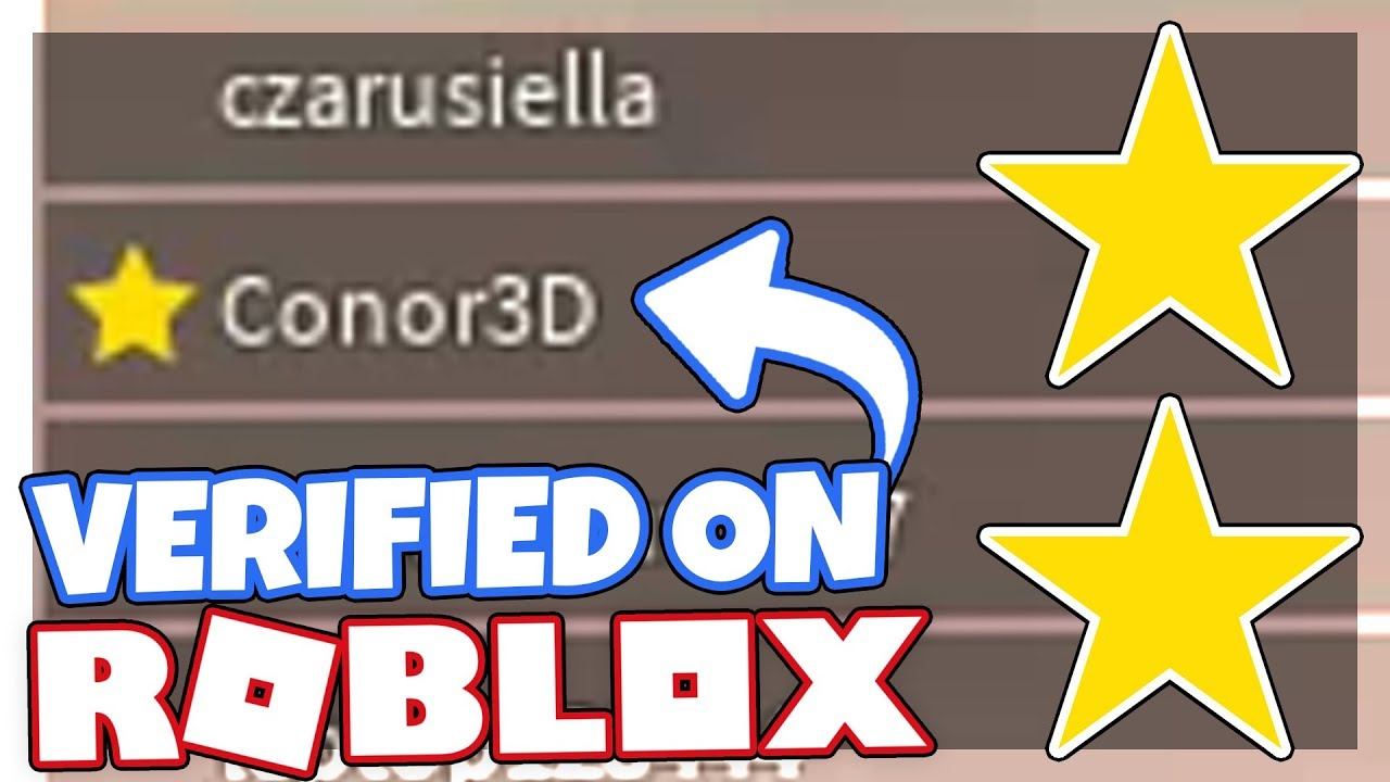 I Got The Verified Star On Roblox How I Got It Official