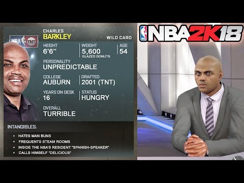 NBA 2k18 IS CHARLES BARKLEY FINALLY HERE?!