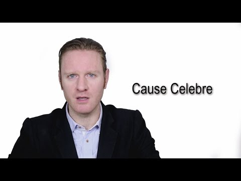 Cause Celebre - Meaning | Pronunciation || Word Wor(l)d - Audio Video Dictionary
