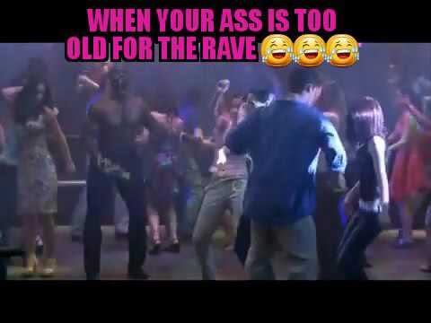 Too Old For The Rave!