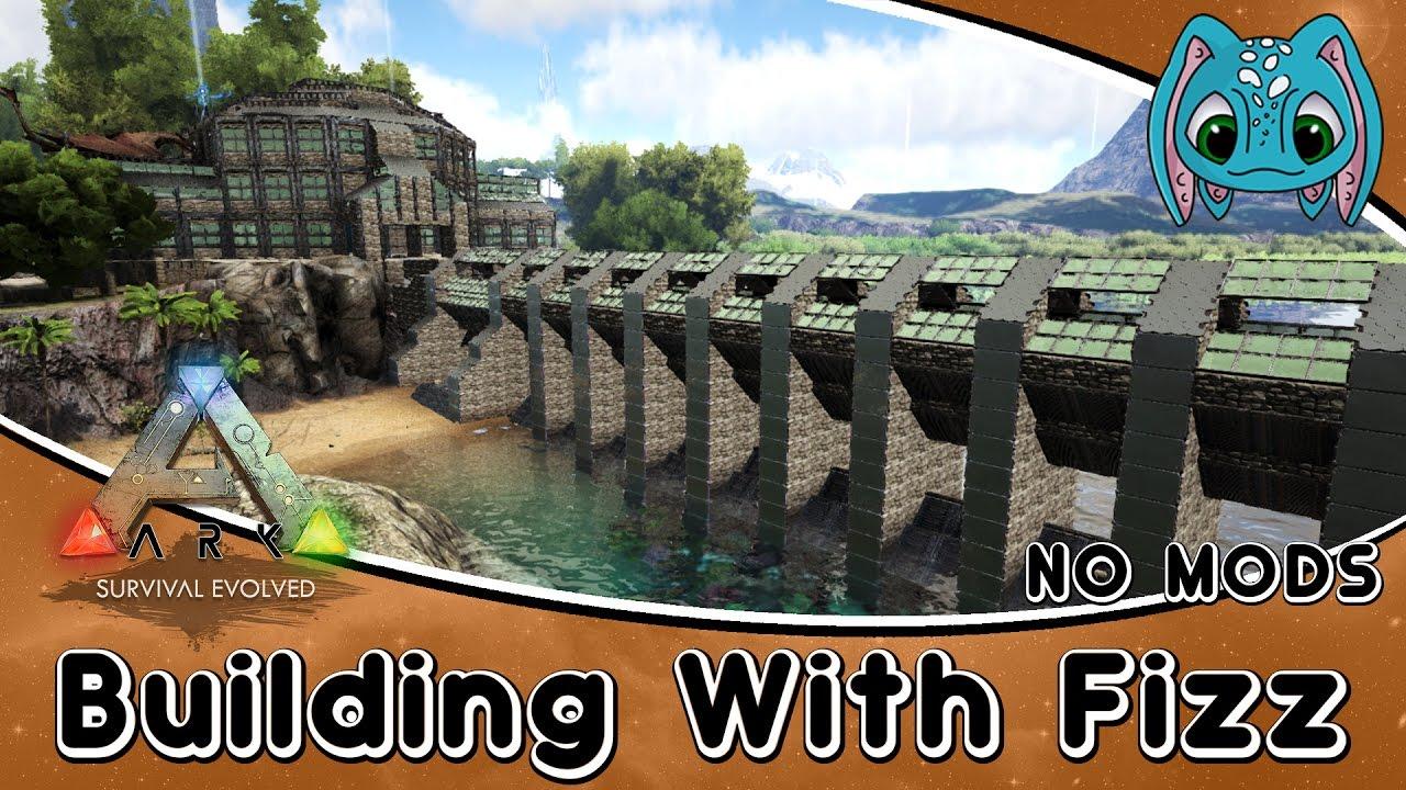 Ark Survival Evolved Building W Fizz Modern Tek Base