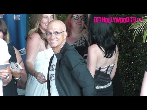 Jimmy Iovine & Liberty Ross Arrive To James Corden's Carpool Karaoke Party At The Chateau Marmont
