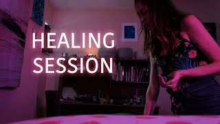 Release Sacral Blockages, Heal Etheric Cords, Reiki with ASMR