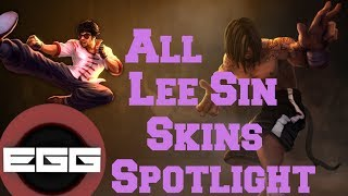 All Lee Sin Skins Spotlight | League of Legends Skin Review