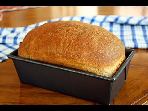 Easy Simple Whole Wheat Bread - Ready In 90 Minutes