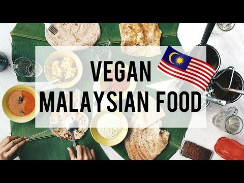 What I Eat In A Day: Vegan Malaysian Food // Merdeka 2017